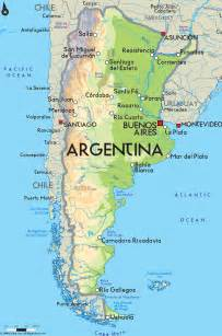 road map of argentina and argentina road maps