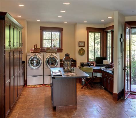 Ranch 1 Farmhouse Laundry Room Chicago By Helman