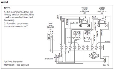 honeywell junction box wiring diagram phone box wiring