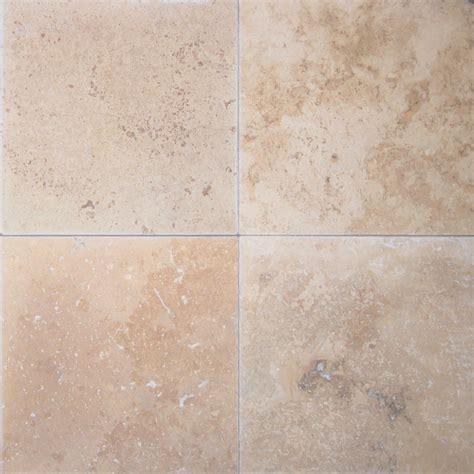 only 29 m2 tumbled light medium shade travertine tile