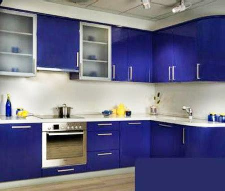 blue kitchen cabinets interior design ideas noble blue color shades for rich interior design and decor