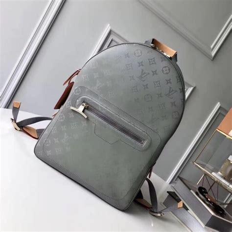 louis vuitton backpack pm monogram titanium