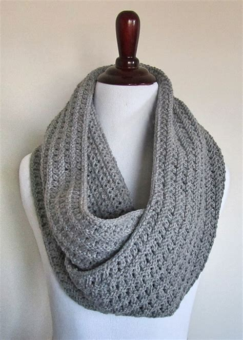 free pattern to knit infinity scarf knitting patterns galore eyelet infinity scarf