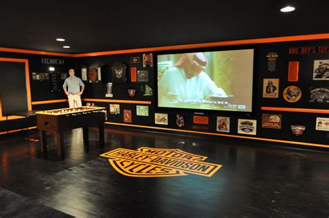 Harley Davidson Room Designs by Harley Davidson Themed Theater