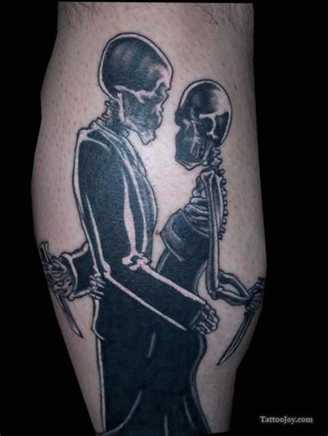 couple skeleton tattoo 11 best images about twd on tattoos