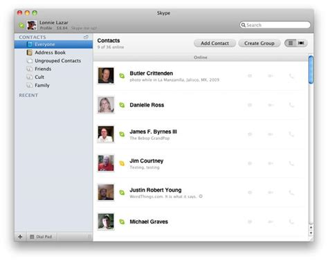Search Skype By Email Address Skype 5 0 Beta Offers New Perspectives For Mac Users Cult Of Mac