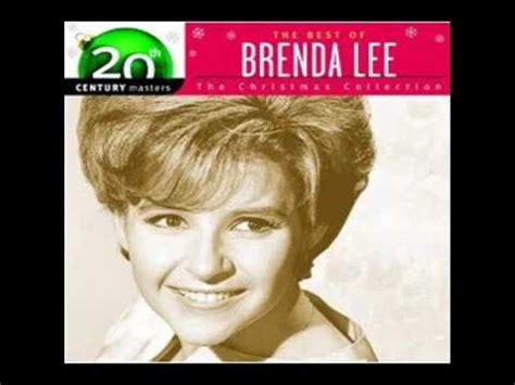 rockin around the christmas tree brenda lee hd audio