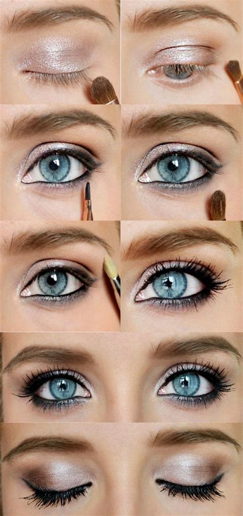 tutorial for eyeshadow smokey eye makeup tutorial for blue eyes makeup vidalondon