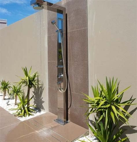 Outdoor Shower Drainage by Picture Suggestion For Does An Outdoor Shower Need A Drain