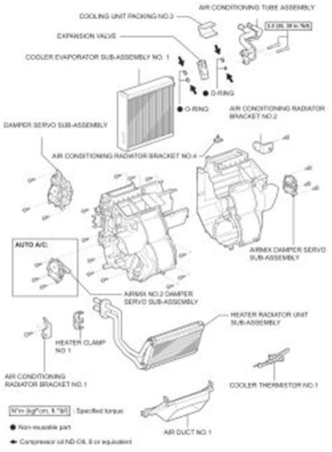 repair guides air mix servo assemblies air mix servo