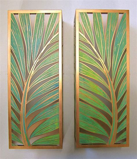 Tropical Wall Sconces coconut palm sconces tropical wall sconces hawaii by paradise lights