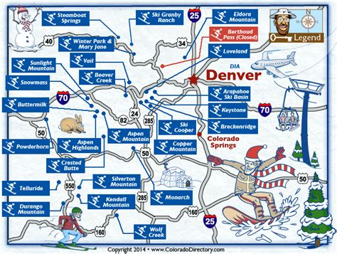 colorado ski resorts map maps update 800542 colorado tourist attractions map places to visit in colorado 75 related