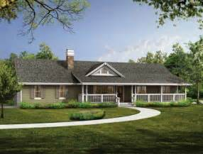 Single Story Ranch Style House Plans Fachada