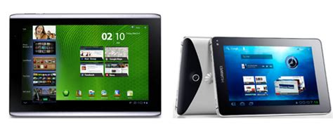 Tablet Huawei 500 Ribuan huawei mediapad acer iconia tab a500 get sandwich update technology news