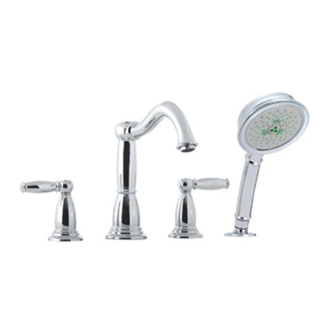 Hansgrohe Held Shower by Hansgrohe 06046000 4 Tub Filler With