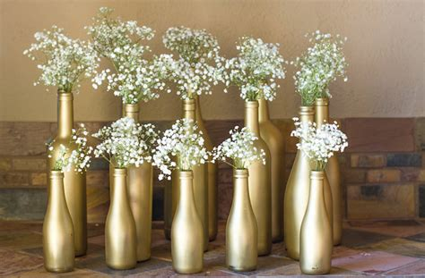 decoração garrafa e balões vov 195 179 responde festa dourada e branca segredos da