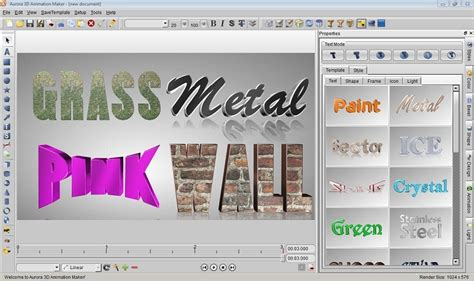 3d text design software free 3d text generator logo maker title animation maker