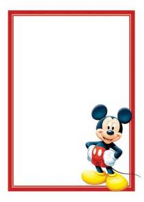 Mickey Mouse Birthday Invitations Template by Free Mickey Mouse Invitations Template Invitations