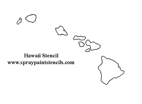 printable hawaiian stencils hibiscus stencils and products on pinterest