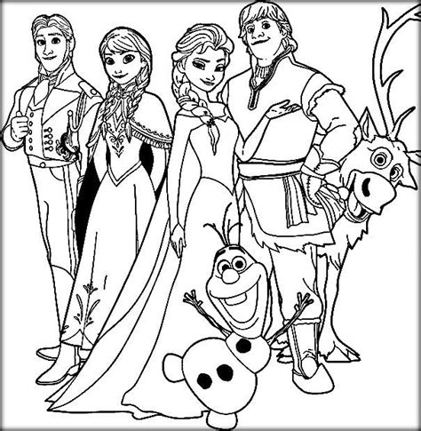 free coloring pages of frozen characters disney frozen coloring pages elsa let it go color zini