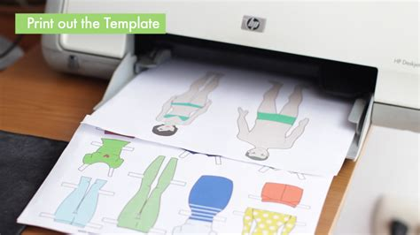 Make Paper Doll - 3 ways to make paper dolls wikihow
