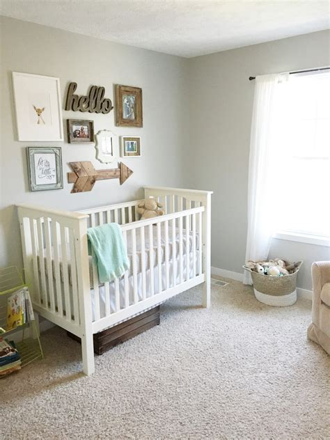 Gender Neutral Nursery Decor Gender Neutral Nursery Reveal The In The Shoes