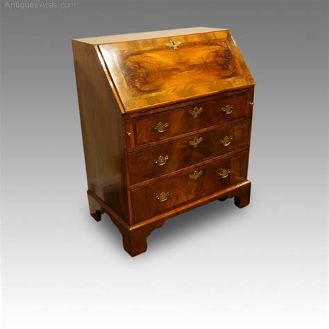 bureau vintage antique walnut bureau antiques atlas