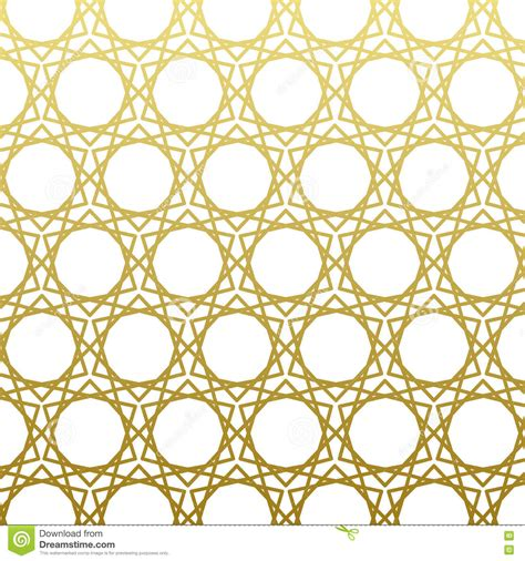 gold arabic pattern arabic pattern gold style traditional east geometric