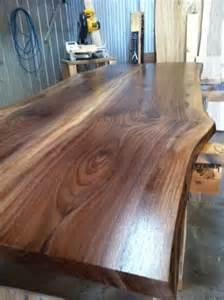 Decorating Kitchen Cabinet Tops live edge walnut countertop modern kitchen toronto