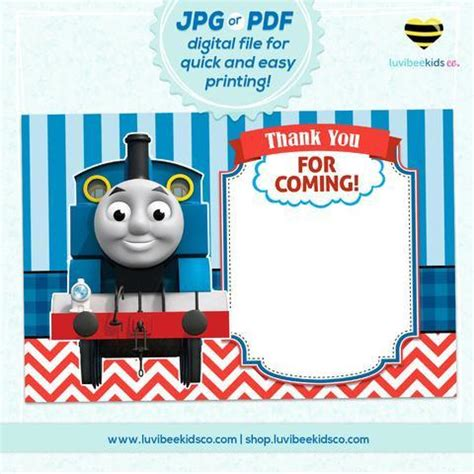 wallpaper engine cards thomas the train thank you card blank luvibeekidsco