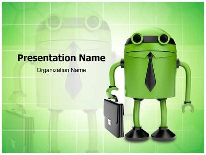 Android Powerpoint Template Background Subscriptiontemplates Com Android Powerpoint Template