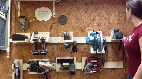 diy french cleat tool system youtube