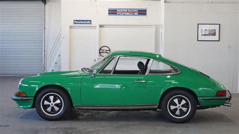porsche 911 viper green 1973 porsche 911 t coupe viper green lti cars