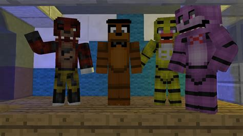 minecraft freddys nights at five minecraft five nights at freddy s 2 song animation