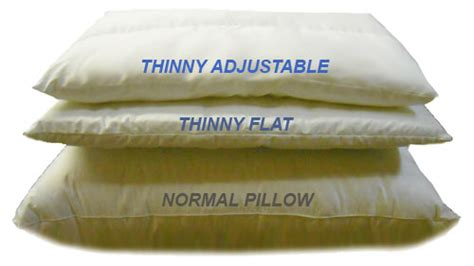 thin bed pillows orthopedic specialty pillows united pillow manufacturing
