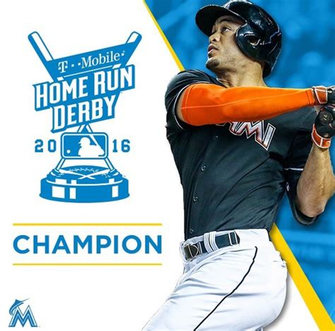 2016 mlb home run derby giancarlo stanton wins