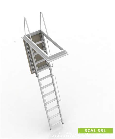 scala retrattile soffitta scala retrattile a elementi scale retrattili solide e sicure