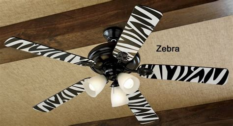 Zebra Print Ceiling Fan by 17 Best Images About Ceiling Fans On