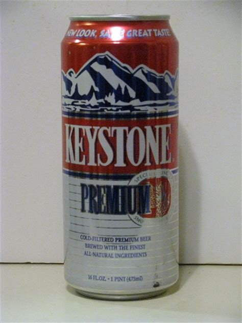 Calories In Keystone Light by Coor S Brewing Co Bills Cans Flat Tops Cone Tops