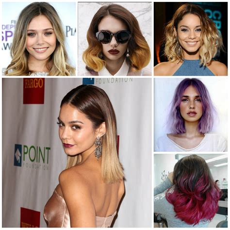 Medium Hairstyles 2016 by Medium Ombre Hairstyles For 2016 2017 Haircuts