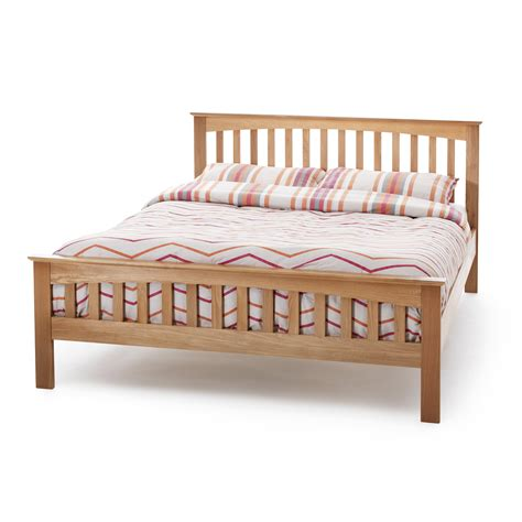 Oak Wooden Bed Frames Oak Wooden Bed Frame Up To 60 Rrp Next Day Select Day Delivery