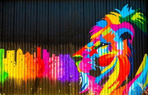 lion graffiti  hd artist  wallpapers images