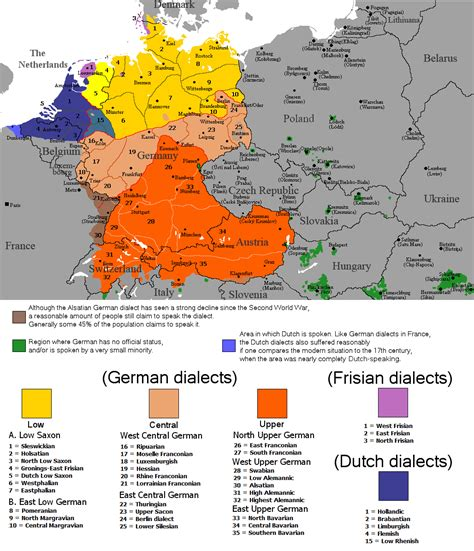 map of germany in german language quot generative models of syntactic variation germanic