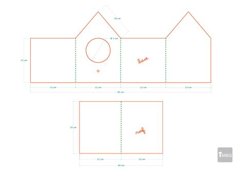 birdhouse templates best photos of cardboard house patterns paper