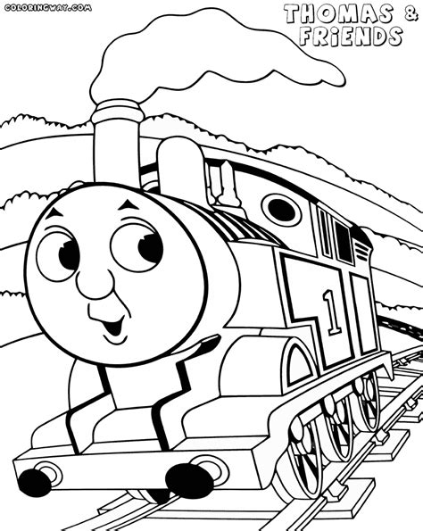 thomas and friend coloring pages thomas the tank engine