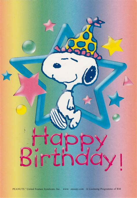happy birthday images snoopy 1000 images about happy birthday to you on pinterest