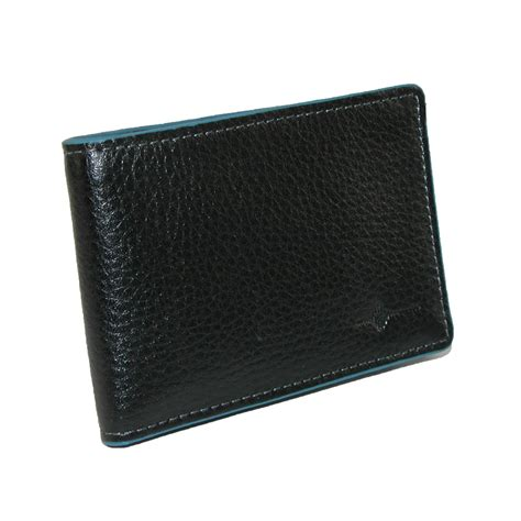 mens leather rfid front pocket slim bifold wallet by buxton money front pocket