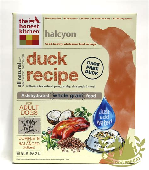 Honest Kitchen Dehydrated Food by Honest Kitchen Freeze Dried Halcyon Food Duck
