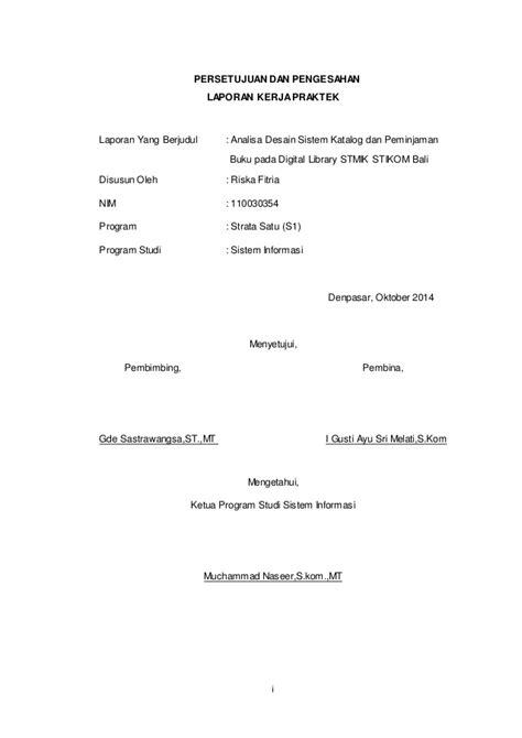 contoh penulisan lembar pengesahan skripsi yang baik dan contoh lembar halaman pengesahan makalah karya tulis