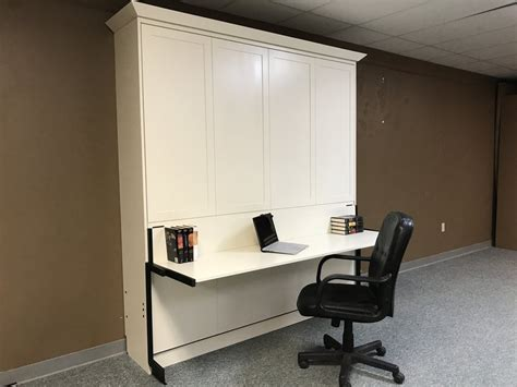 king size murphy bed with desk king size murphy bed and stay level desk by chris davis